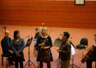 Concert with Kurtag, Ferneyhough, Xenakis..., introductory words by Simone, Anran Jiang, and Xiaoyong Chen